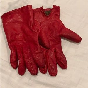 Accessories - Genuine leather gloves lined with cashmere